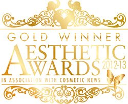 Pulse Dermatology & Laser Gold Winner at The Aesthetic Awards 2012-2013